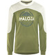 Maloja CurdinM. - Maillot manches longues Homme - blanc/olive